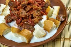 Turkish kebab Royalty Free Stock Photography