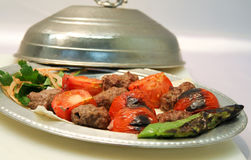 Turkish Kebab Royalty Free Stock Photo
