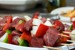 Turkish kebabs Royalty Free Stock Images