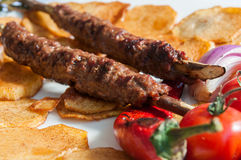 Turkish kebabs Stock Image