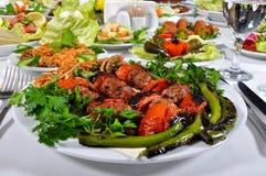 Turkish kebap Royalty Free Stock Image