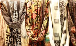 Turkish kerchief Royalty Free Stock Photography