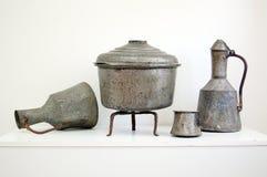 Turkish kitchen dishes Stock Image