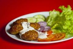 Turkish kofte (meat ball) Stock Images