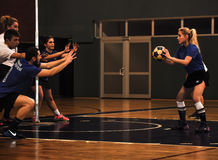 Turkish Korfball Championship. National Korfball Championship matches among all Korfball teams in Turkey took place in Mugla city of the country with the Royalty Free Stock Images