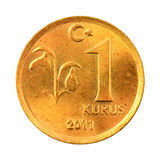 Turkish Kurus Stock Photo