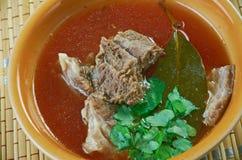 Turkish lamb soup Stock Images
