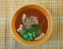 Turkish lamb soup Royalty Free Stock Photography