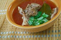 Turkish lamb soup Stock Image