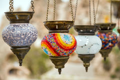Turkish lamp Royalty Free Stock Photography