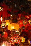 Turkish lamps Royalty Free Stock Photo
