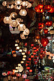 Turkish lamps Royalty Free Stock Images