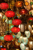 Turkish lamps Stock Photos