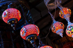 Turkish lamps Royalty Free Stock Photos