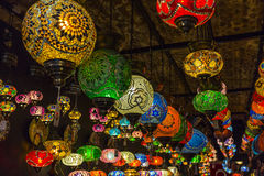 Turkish Lamps Stock Photo