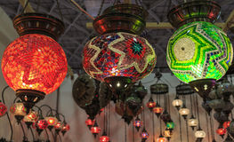 Turkish lamps Stock Images
