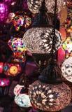 Turkish lamps, Istanbul, Turkey Stock Image
