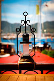 Turkish lamps. In Marmaris in the old restaurant Stock Images