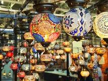 Turkish lamps Stock Photo
