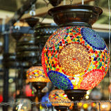 Turkish lamps Royalty Free Stock Image