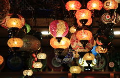 Turkish lamps Stock Photography