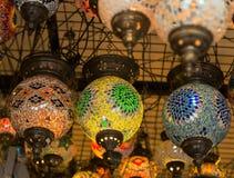 Turkish Lamps Stock Photos