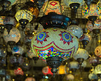 Turkish Lamps Royalty Free Stock Photos