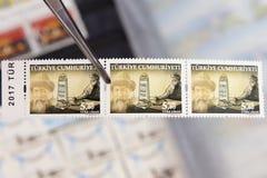 Turkey post stamp Stock Photography