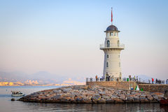 Turkish lantern in Alanya Royalty Free Stock Image