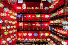 Turkish lanterns Royalty Free Stock Images