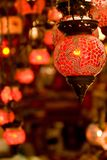 Turkish lanterns Stock Images