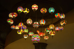 Turkish lanterns Royalty Free Stock Image
