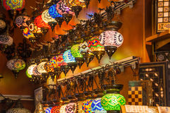 Turkish lanterns Stock Photos
