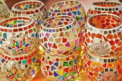 Turkish lanterns on grand bazaar, Istanbul Stock Photo