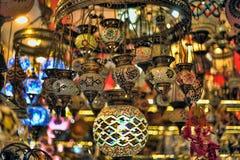 Turkish lanterns Royalty Free Stock Photo
