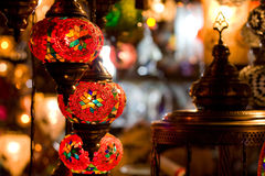 Turkish lanterns Stock Photography