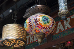 Turkish lanterns Royalty Free Stock Photography