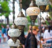 Turkish lanterns Stock Image
