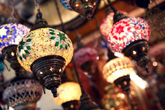 Turkish lights Stock Photography