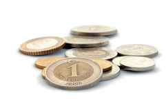 Turkish Lira Coins Royalty Free Stock Photos