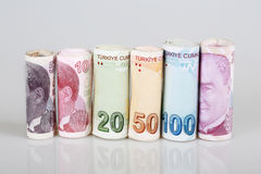 Turkish lira Royalty Free Stock Image