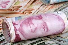 Turkish lira Stock Image