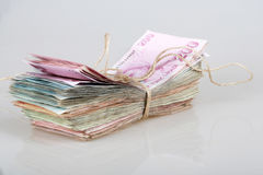 Turkish lira Royalty Free Stock Photo