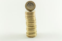 Turkish Lira - Iron Money. 1 TL Royalty Free Stock Images