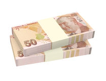 Turkish lira isolated on white background. Stock Image
