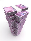 Turkish Lira Tower Royalty Free Stock Photo