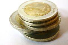 Turkish Lira tower Royalty Free Stock Photos