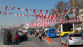 Turkish local elections, 2014 Royalty Free Stock Images