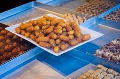 Turkish Lokma Dessert Stock Photo