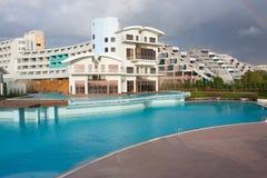 Turkish luxury hotel Royalty Free Stock Photo